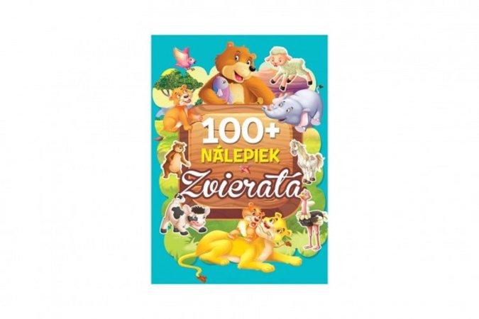 Teddies Kniha so samolepkami - Zvieratá 100 + nálepiek - SK verzia