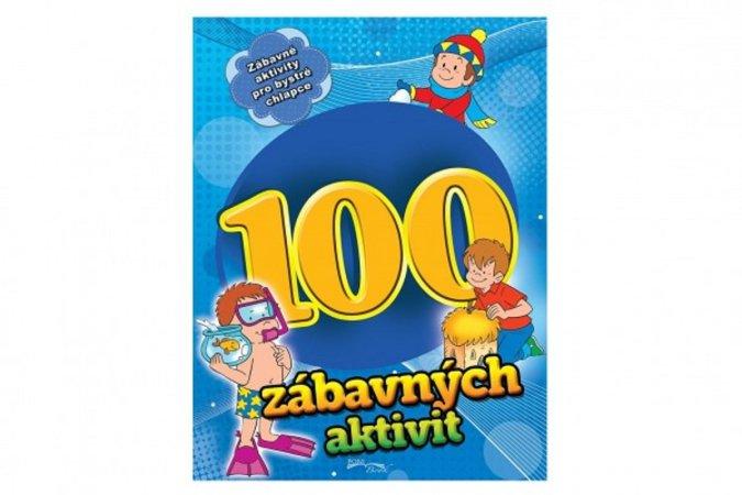 Teddies Pracovní sešit - 100 zábavných aktivit - chlapci - CZ verze