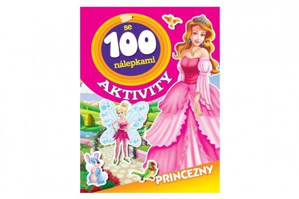 Teddies Aktivity - Princezny se 100 samolepkami - CZ verze