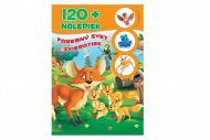 Teddies Kniha so samolepkami 120 + Farebný svet zvieratiek - SK verzia