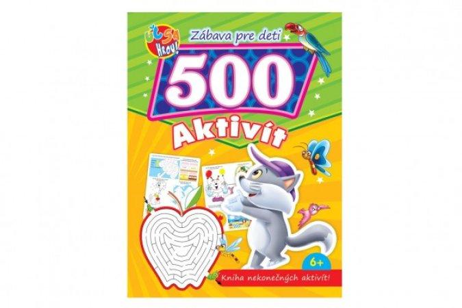 Teddies Pracovný zošit - 500 zábavných aktivít - SK verzia