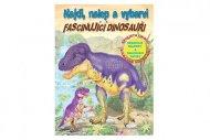 Teddies Pracovní sešit - Najdi, nalep a vybarvi - Úžasní dinosauři