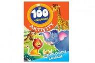 Teddies Aktivity - Zvířata v ZOO se 100 samolepkami - CZ verze