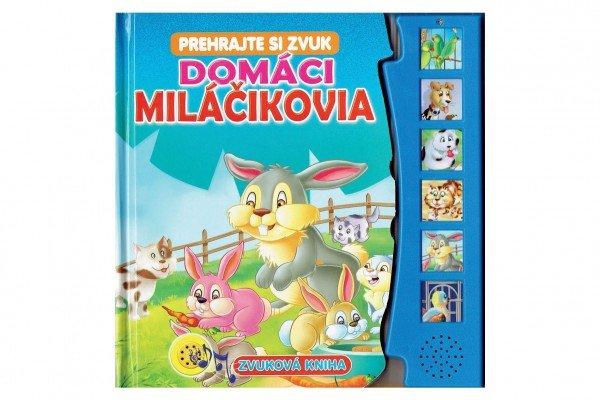 Teddies Zvuková kniha - Domáci miláčikovia - SK verzia