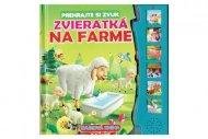 Teddies Zvuková kniha - Zvieratká na farme - SK verze