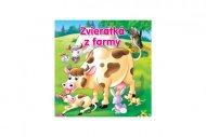 Teddies Kniha - Zvieratká z farmy pre najmenších - SK verzia