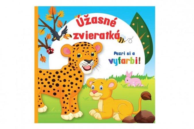 Teddies Maľovánka - Úžasné zvieratká - SK verzia