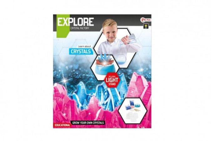 Teddies Výroba krystalů - vědecká hra se stojánkem