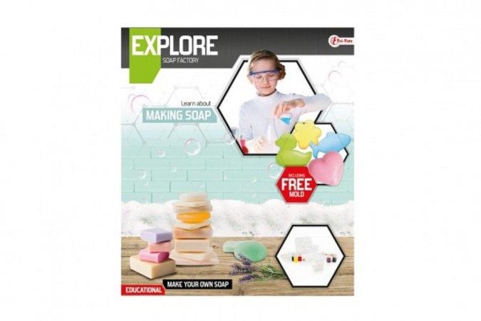 Teddies Výroba mýdla - vědecká hra s formičkami