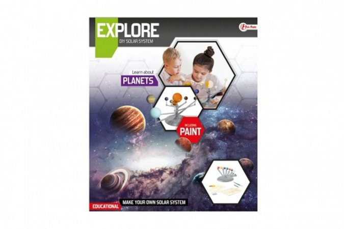 Teddies Planety sluneční soustavy - vědecká hra s barvami