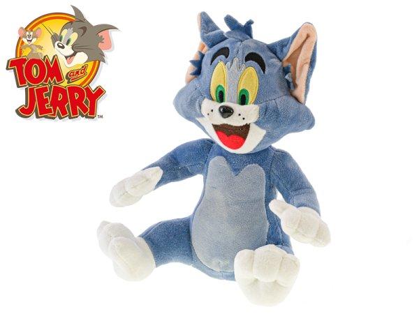 Mikro trading Tom & Jerry - Tom plyšový - 20 cm