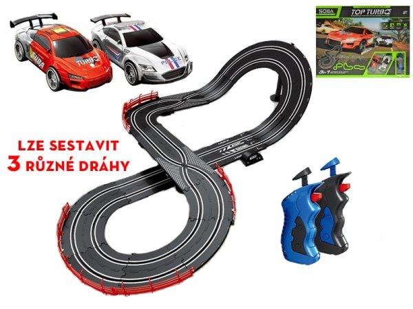 Mikro trading Autodráha s ovladači - 340 cm