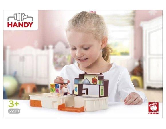 Efko IGRÁČEK HANDY - Kuchyně s kuchařem a doplňky