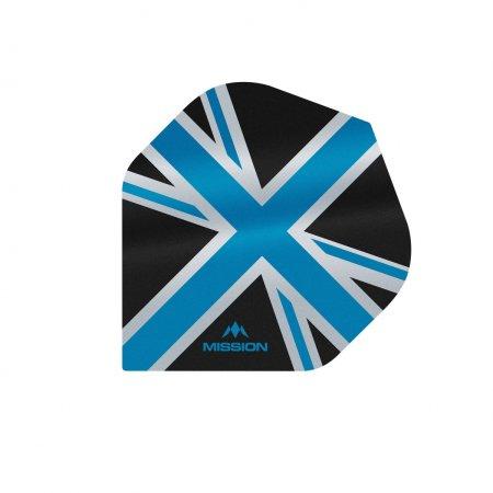 Mission Letky Alliance Union Jack - Black / Blue F3081