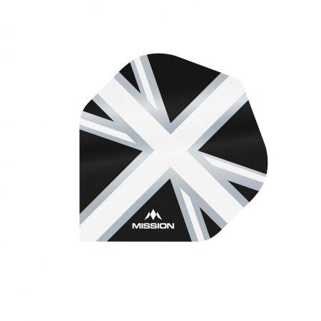 Mission Letky Alliance Union Jack - Black / White F3088