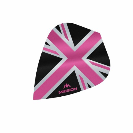 Mission Letky Alliance Union Jack - Black / Pink F3094