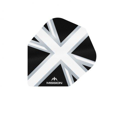 Mission Letky Alliance Union Jack No6 - Black / White F3104
