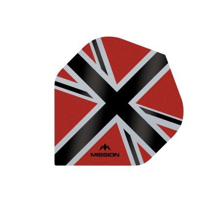 Mission Letky Alliance-X Union Jack - Red / Black F3106