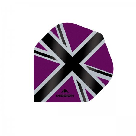Mission Letky Alliance-X Union Jack - Purple / Black F3109