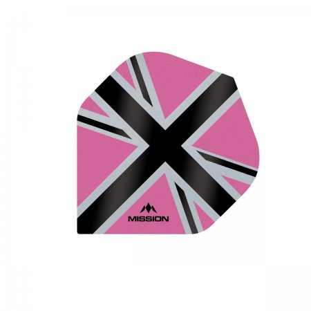 Mission Letky Alliance-X Union Jack - Pink / Black F3110