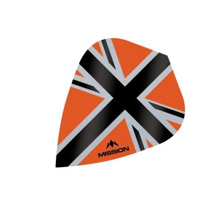 Mission Letky Alliance-X Union Jack - Orange / Black F3115