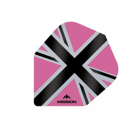 Mission Letky Alliance-X Union Jack No6 - Pink / Black F3124