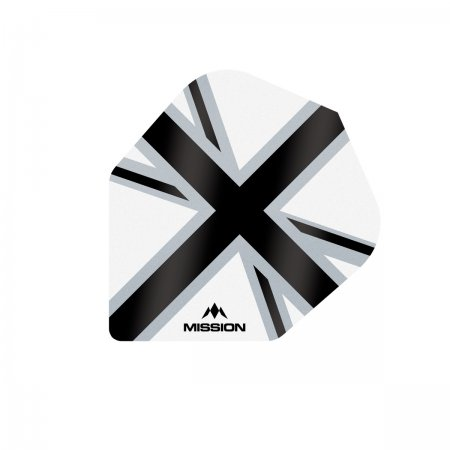 Mission Letky Alliance-X Union Jack No6 - White / Black F3125