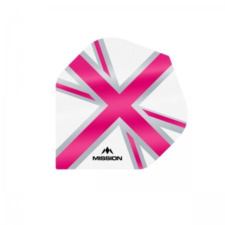 Mission Letky Alliance Union Jack - White / Pink F3131