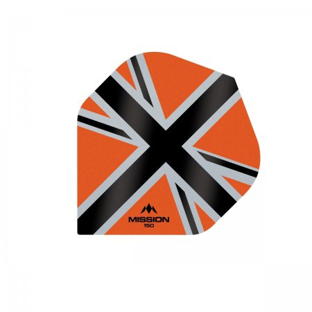 Mission Letky Alliance-X Union Jack - 150 - Orange / Black F3138