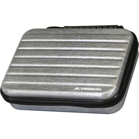 Mission Pouzdro na šipky ABS-4 - Metallic Silver