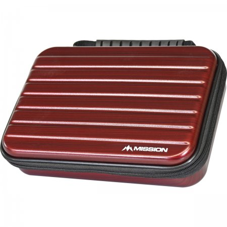 Mission Pouzdro na šipky ABS-4 - Metallic Red