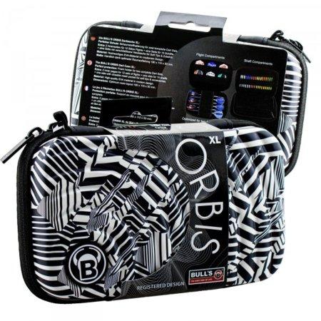Bull's Pouzdro na šipky Orbis XL - Black / White