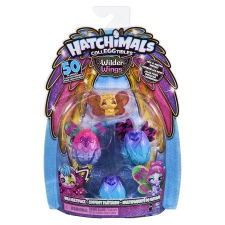 Spin Master Hatchimals - Zvířátka s křídly - 4 ks