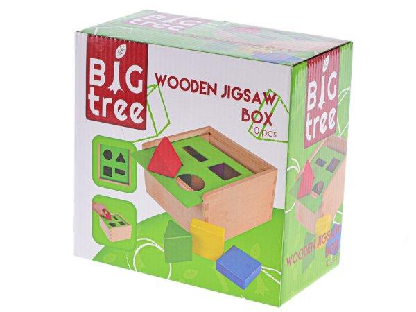 Mikro trading Vkládačka dřevěná - různé tvary