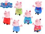 Mikro trading Peppa Pig Happy Oink - Prasátko plyšové - 20 cm
