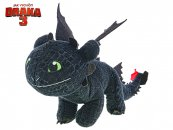Mikro trading Jak vycvičit draka 3 - Drak Nightfury - 26 cm