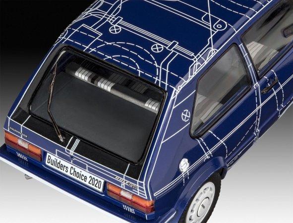 """Revell Plastikový model auta VW Golf Gti """"Builders Choice"""""""