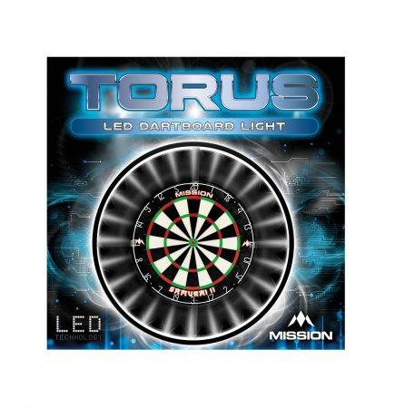 Mission Torus Darboard Light - osvětlení sisalového terče