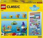 LEGO Classic 11013 - Průhledné kreativní kostky