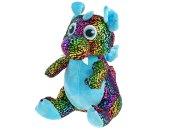Mikro trading Star Sparkle - Drak plyšový - 29 cm - modrá