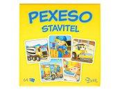 Mikro trading Pexeso - Stavitel - 64 ks