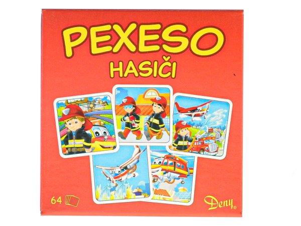 Mikro trading Pexeso - Hasiči - 64 ks