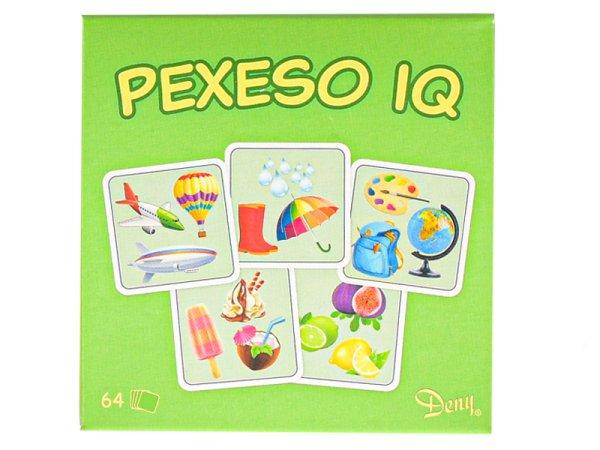 Mikro trading Pexeso - IQ - 64 ks