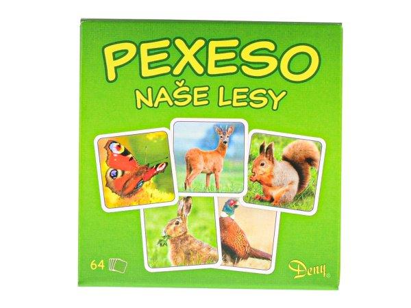 Mikro trading Pexeso - Naše lesy - 64 ks