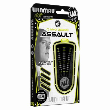 Winmau Šipky Steel Michael van Gerwen - Assault - 22g