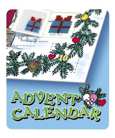 Hama Zažehlovací korálky - Adventní kalendář - MIDI