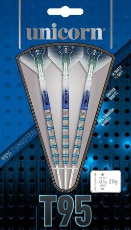 Unicorn Šipky Steel T95 Core XL - Blue - Style 2 - 25g