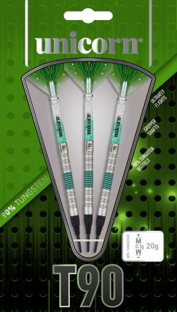 Unicorn Šipky T90 Core XL - Green - 23g