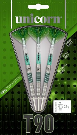Unicorn Šipky Steel T90 Core XL - Green - Style 1 - 23g